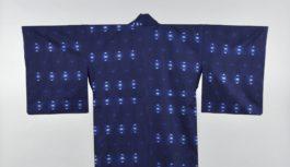 【おうちでミュージアム】芦屋市立美術博物館「藍のファッション展」たどり着いた青と白の美 本物と内面で会話する