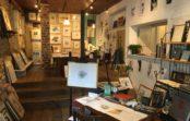グラフィックデザイナー マツシタ・ヒロス遺作展 〝オルタンシア〟 箕面「縁の自由空間」で10月末まで開催中