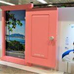JR大阪駅に「どこでもドア」登場<br />乗り放題きっぷ発売で旅行ムード盛り上げ