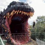 全長約120メートル ゴジラが襲撃!?<br> 淡路島「ニジゲンノモリ」に新アトラクション