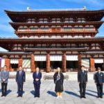奈良・薬師寺で観光キャンペーン<br />僧侶と拝観や写経 冬の特別企画