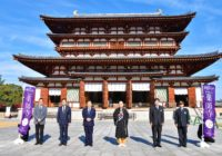 奈良・薬師寺で観光キャンペーン僧侶と拝観や写経 冬の特別企画