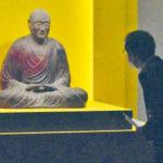 鑑真和上坐像 12年ぶり寺外で公開 <br>京都で特別展 戒律の教えをたどる
