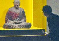 鑑真和上坐像 12年ぶり寺外で公開 京都で特別展 戒律の教えをたどる