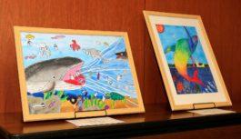 小学生が描くSDGsと未来の「ひょうご」は?県主催のコンクール受賞作品展 神戸・新長田で