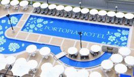 ルーフガーデンプール予約スタート、「神戸ポートピアホテル」で夏休みを!