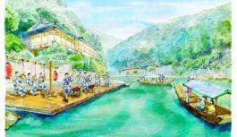 屋形舟の上で優雅に楽しむ「コンチキチン」~星のや京都で7月「京のお囃子舟」開催~