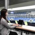 開放的なスタジアムでテレワーク ガンバ大阪の本拠地で「パナスタワーク」を