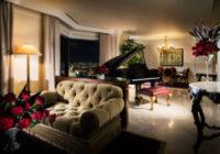 最上級スイートルームでプライベートディナーを楽しんでホテル阪急インターナショナルが新プラン